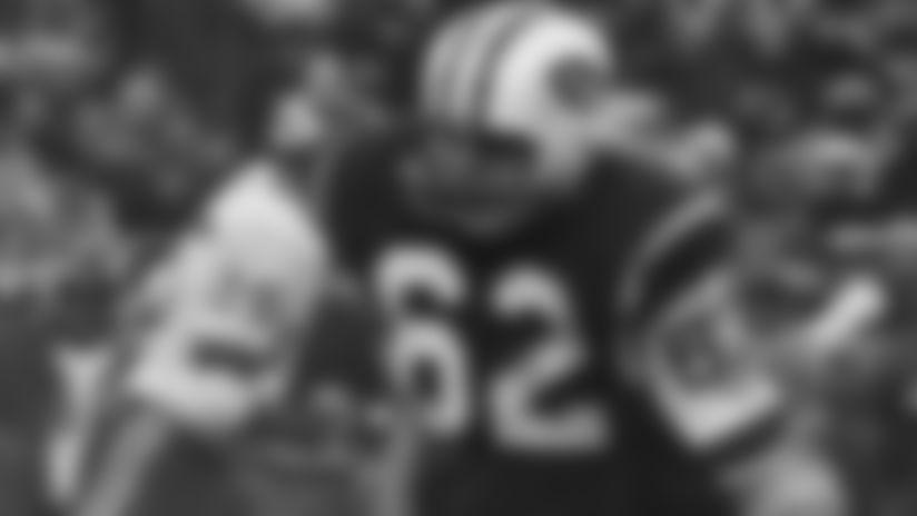 Al Atkinson #62 of the New York Jets