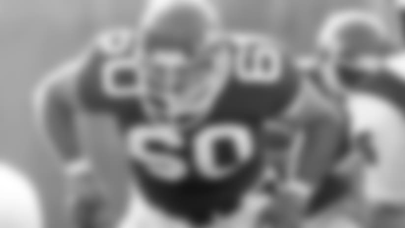 Dan Alexander played both guard and tackle during his 12-year career with the Jets which spanned from 1977-1989. AlexanderDactionII