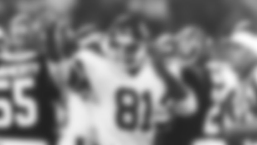 Tight end Billy Griggs, 1985-89.GriggsBactionII
