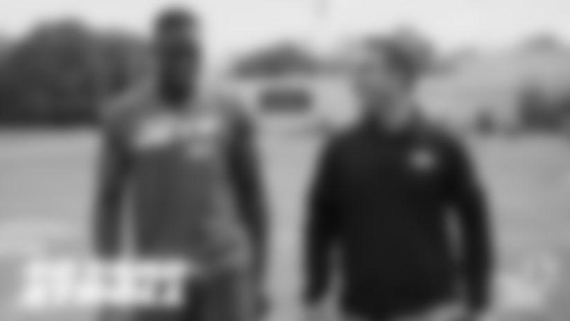 40-Yard Stroll with WR Josh Bellamy