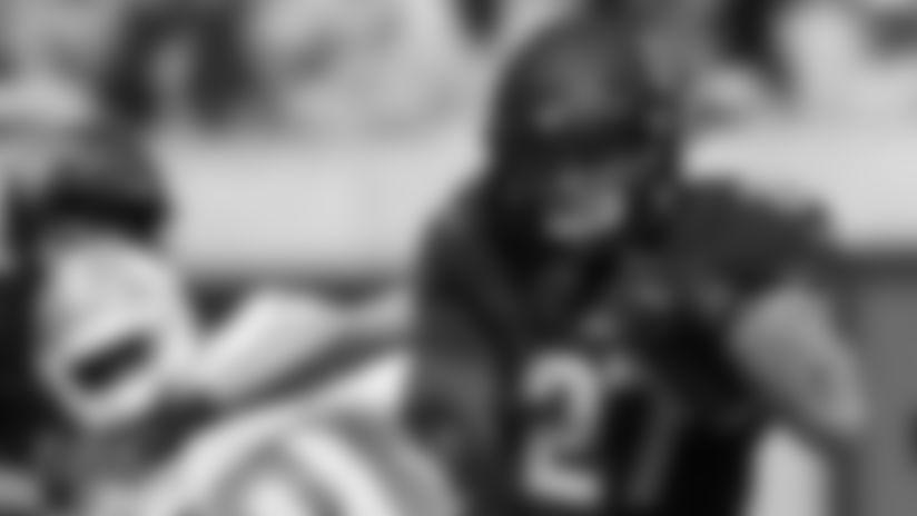 California safety Ashtyn Davis (27) runs back a kickoff against North Carolina during the second half of an NCAA college football game, Saturday, Sept. 1, 2018, in Berkeley, Calif. California won 24-17. (AP Photo/D. Ross Cameron)