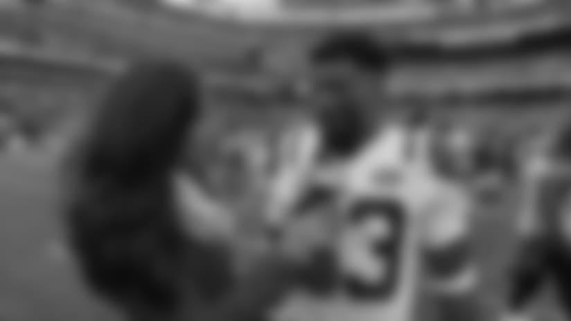 SNY: Jamal Adams Postgame On-Field 1-on-1