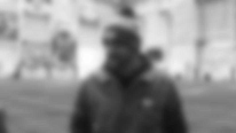 TE Coach John Dunn: Pleased with Trevon Wesco's Developments