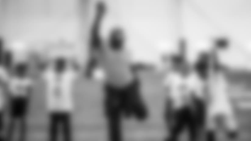 Top Photos from Gatorade Junior Training Camp