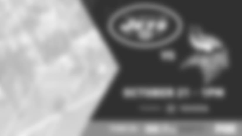 GAMEDAY GUIDE: Jets vs. Vikings (10/21)