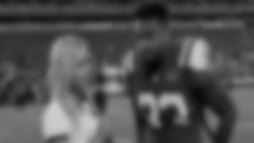 Jamal Adams On-Field 1-on-1 vs. Falcons