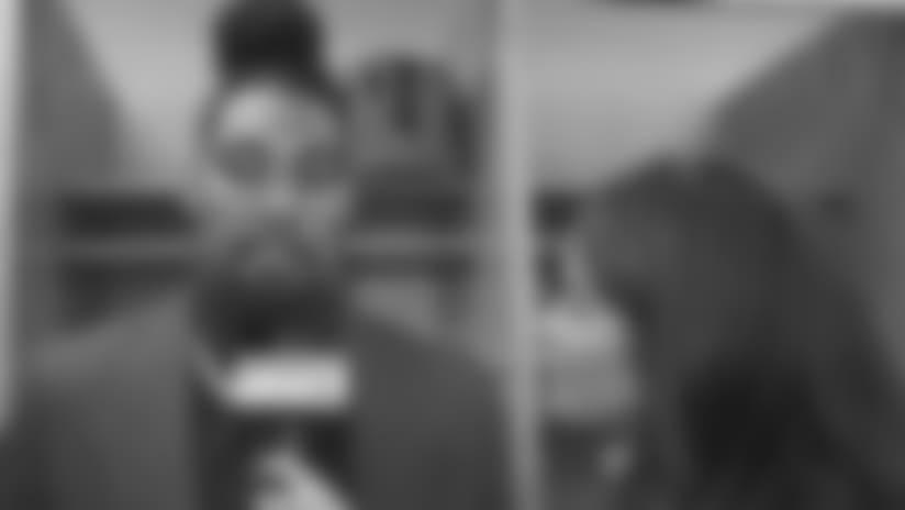 SNY: Leonard Williams Postgame Locker Room 1-on-1