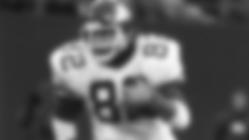 Tight end Mickey Shuler, 1978-89.ShulerMactionVI