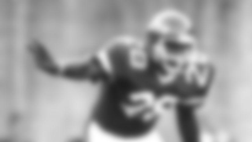 Cornerback Darrol Ray, 1980-84.RayDactionI