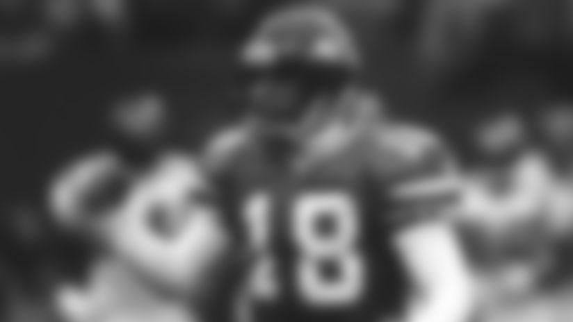 Jets quarterback Ray Lucas, 1997-2000.LucasRactionVI