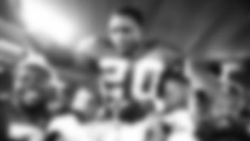 Detroit Lions celebrate NFL 100