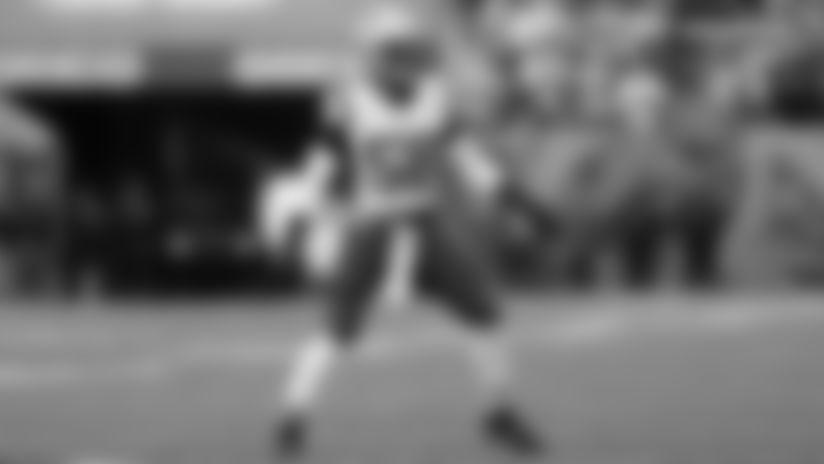 New England Patriots outside linebacker Jamie Collins Sr. (58) runs in pursuit during an NFL football game against the Cincinnati Bengals, Sunday, Dec. 15, 2019 in Cincinnati. The Patriots defeated Bengals 34-13. (Scott Boehm via AP)