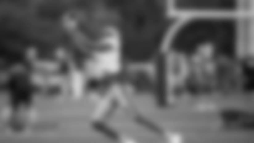 Detroit Lions wide receiver Marvin Jones Jr. (11) during practice at the Detroit Lions training facility on Wednesday, Oct. 3, 2018 in Allen Park, Mich. (Detroit Lions via AP)