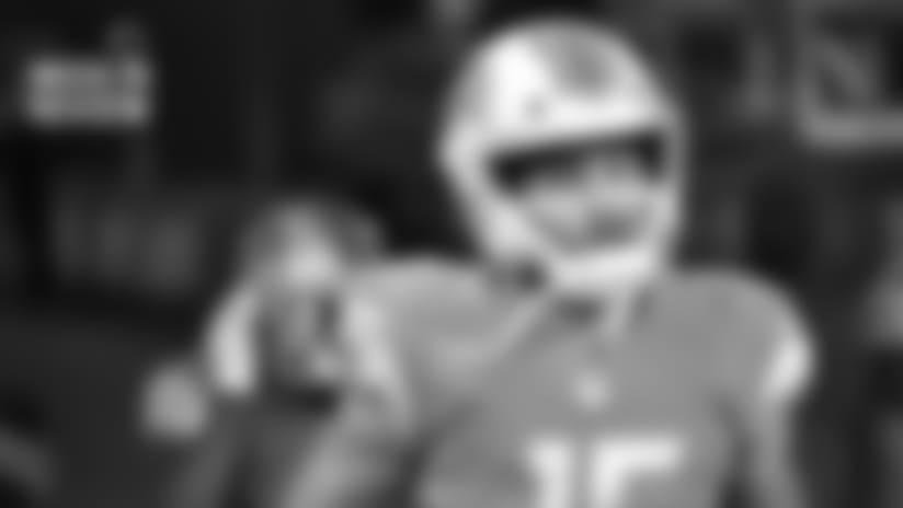 Ohio State offensive lineman Jonah Jackson plays against Miami (Ohio) during an NCAA college football game Saturday, Sept. 21, 2019, in Columbus, Ohio. (AP Photo/Jay LaPrete)