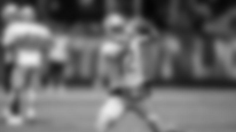 Detroit Lions wide receiver Danny Amendola (12) during Day 5 of OTAs on Thursday, May 30, 2019 in Allen Park, Mich. (Detroit Lions via AP)