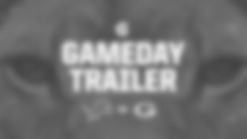 Get ready for the Lions' Week 14 matchup against the Green Bay Packers with this game trailer fueled by Gatorade.