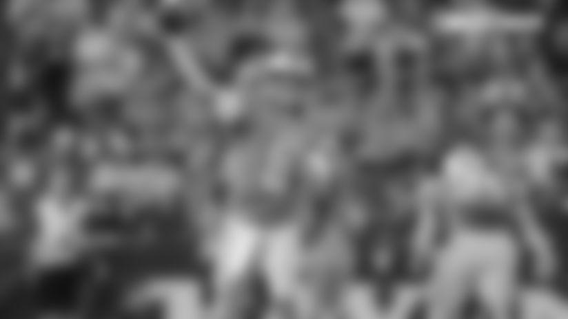 Quarterback Dan Orlovsky