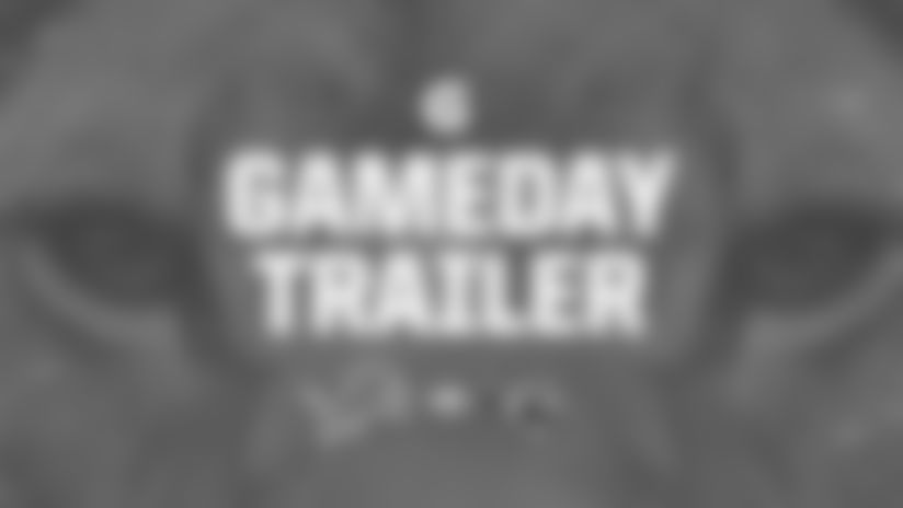 Get ready for the Lions' Week 6 matchup against the Jacksonville Jaguars with this game trailer fueled by Gatorade.