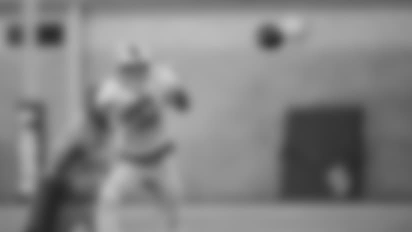 Detroit Lions wide receiver Marvin Jones Jr. (11) during practice at the Detroit Lions training facility on Wednesday, Oct. 24, 2018 in Allen Park, Mich. (Detroit Lions via AP)