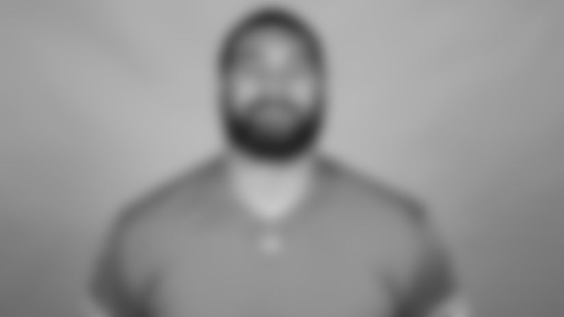 This is a 2021 photo of Detroit Lions offensive lineman Darrin Paulo of the Detroit Lions NFL football team. This image reflects the  active roster as of June 7th 2021, when this image was taken. (AP Photo)