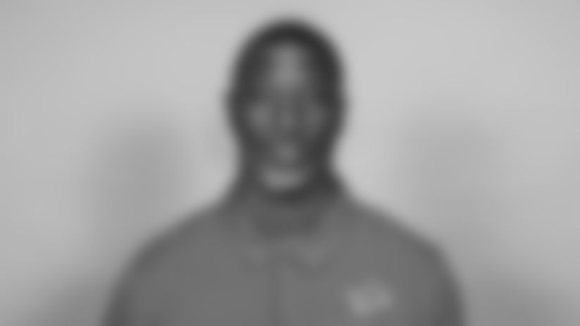 This is a 2021 photo of Aaron Glenn of the Detroit Lions NFL football team.