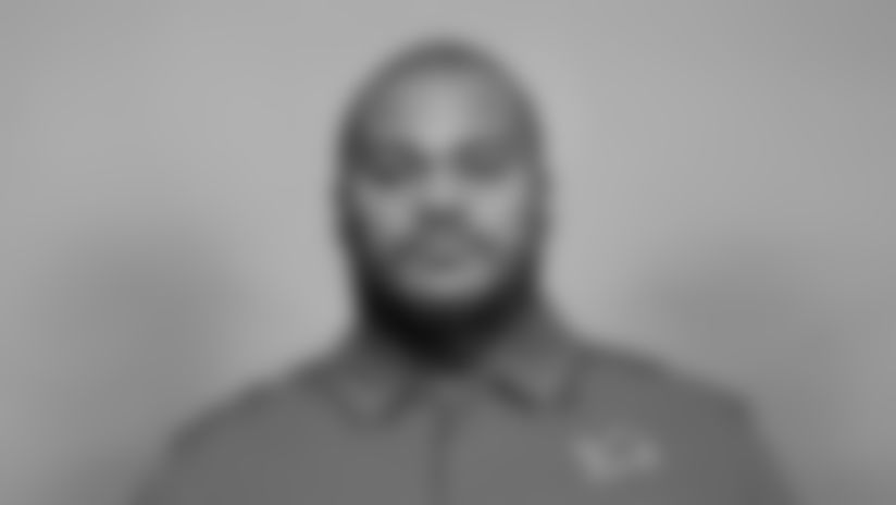 This is a 2021 photo of Duce Staley of the Detroit Lions NFL football team.