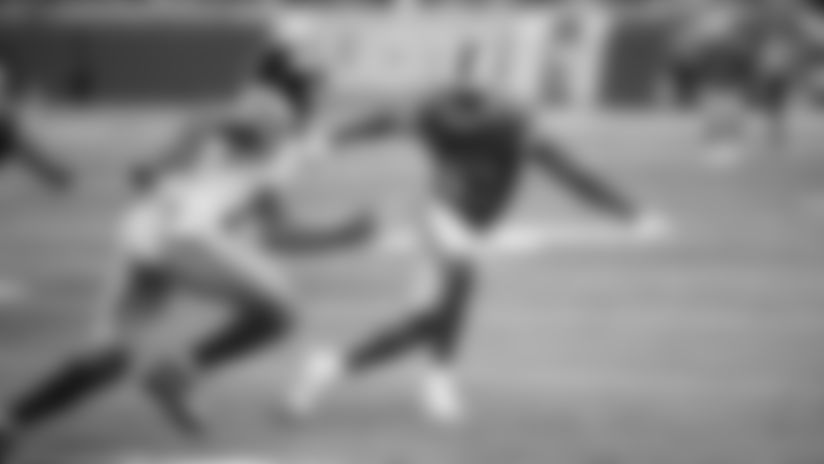 Detroit Lions cornerback Chris Jones (43) during a NFL football game against the New York Giants on Friday, Aug. 17, 2018 in Detroit. (Detroit Lions via AP).