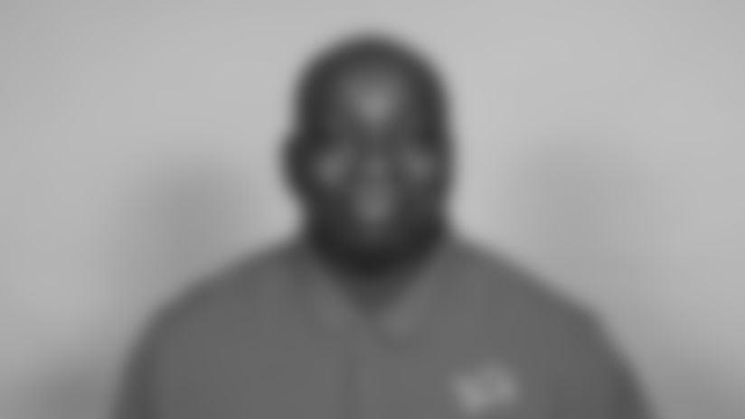 This is a 2021 photo of Stephen Thomas of the Detroit Lions NFL football team. This image reflects the  active staff as of February 18st 2021, when this image was taken. (AP Photo)
