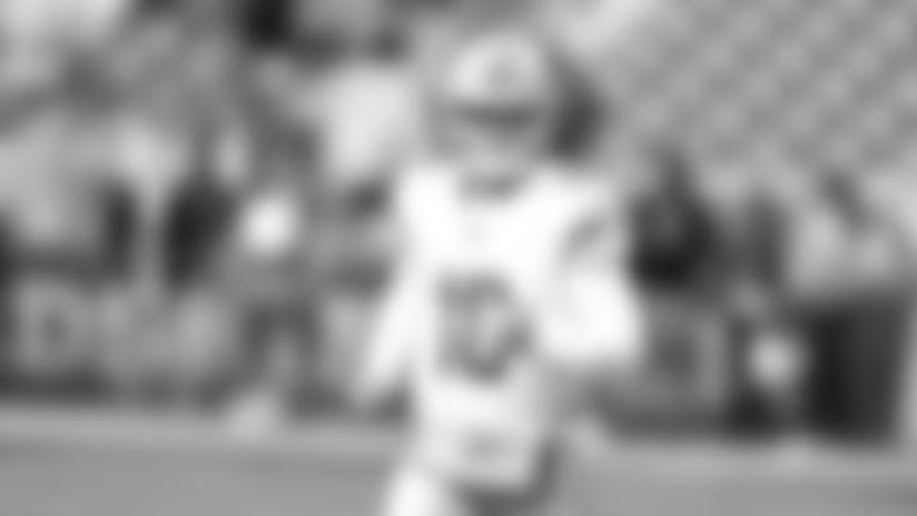 David Blough to start at quarterback Thursday vs. Bears