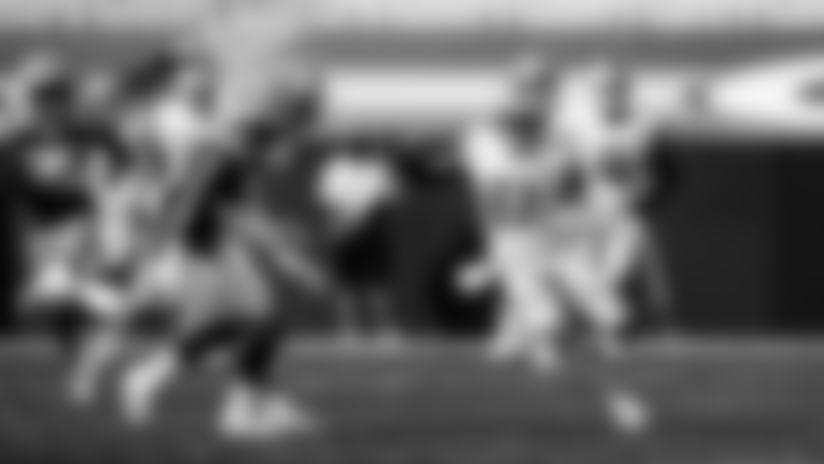 Detroit Lions wide receiver Quintez Cephus (87) during a NFL football game against the Green Bay Packers on Sunday, Sept. 20, 2020 in Detroit. (Detroit Lions via AP).