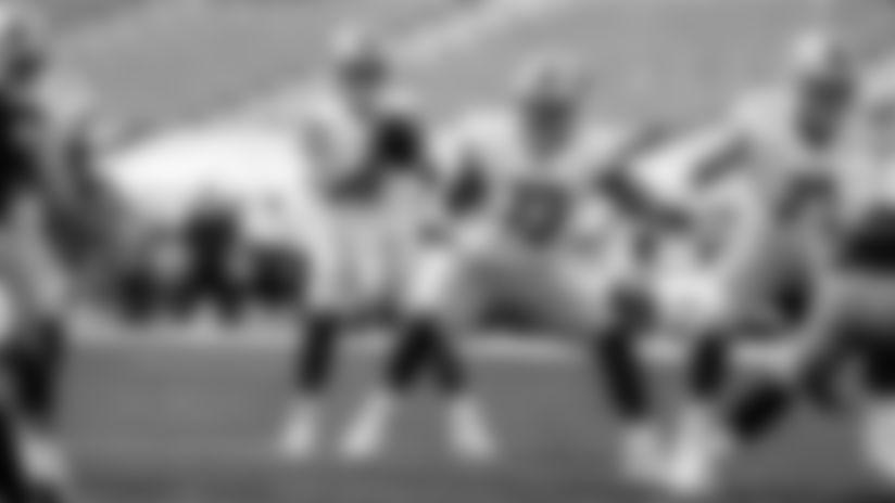 Detroit Lions quarterback Matthew Stafford (9) Detroit Lions offensive lineman Jonah Jackson (73) during a NFL football game against the Green Bay Packers on Sunday, Sept. 20, 2020 in Detroit. (Detroit Lions via AP).