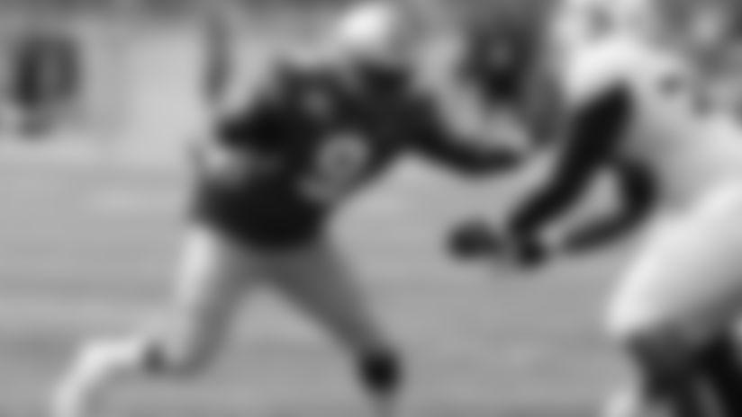 Ohio State defensive lineman Jashon Cornell plays against Florida Atlantic in an NCAA college football game Saturday, Aug. 31, 2019, in Columbus, Ohio. (AP Photo/Jay LaPrete)