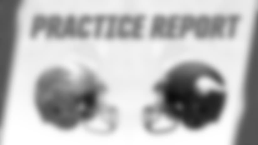 Lions at Vikings practice report: Nov. 1