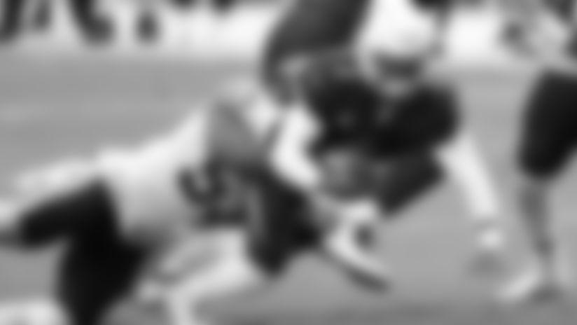 Arizona Cardinals quarterback Kyler Murray (1) is pulled down by Washington Football Team inside linebacker Jon Bostic (53) during the second half of an NFL football game, Sunday, Sept. 20, 2020, in Glendale, Ariz. (AP Photo/Darryl Webb)
