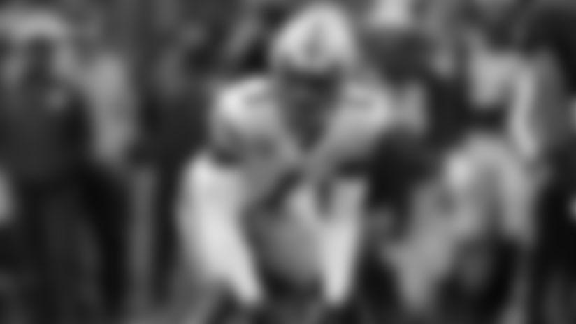 Ohio State cornerback Jeff Okudah plays against Michigan in the first half of an NCAA college football game in Ann Arbor, Mich., Saturday, Nov. 30, 2019. (AP Photo/Paul Sancya)