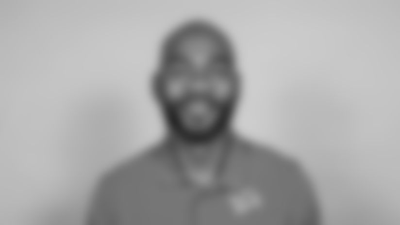 This is a 2021 photo of Antwaan Randle El of the Detroit Lions NFL football team. This image reflects the  active staff as of February 18st 2021, when this image was taken. (AP Photo)
