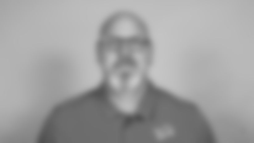 This is a 2021 photo of Todd Wash of the Detroit Lions NFL football team. This image reflects the  active staff as of February 18st 2021, when this image was taken. (AP Photo)