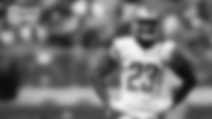Detroit Lions cornerback Darius Slay (23) during a NFL football game against the San Francisco 49ers on Sunday, Sept. 16, 2018 in Santa Clara, Calif. (Detroit Lions via AP).