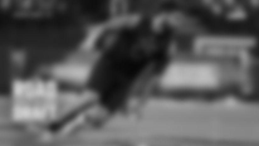 Defensive lineman A.J. Epenesa