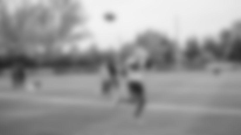 Detroit Lions wide receiver Marvin Jones Jr. (11) during practice at the Detroit Lions training facility Friday, Oct. 25, 2019 in Allen Park, Mich. (Detroit Lions via AP)