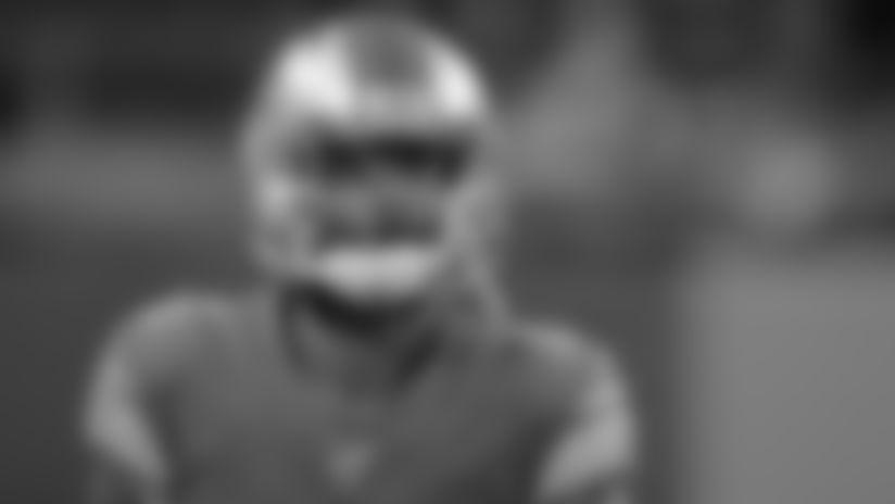 Detroit Lions cornerback Darius Slay (23) before a NFL football game against the Tampa Bay Buccaneers Sunday, Dec. 15, 2019 in Detroit. (Detroit Lions via AP).
