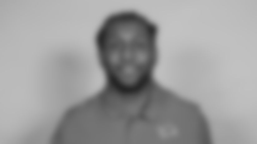 This is a 2021 photo of Kelvin Sheppard of the Detroit Lions NFL football team. This image reflects the  active staff as of February 18st 2021, when this image was taken. (AP Photo)