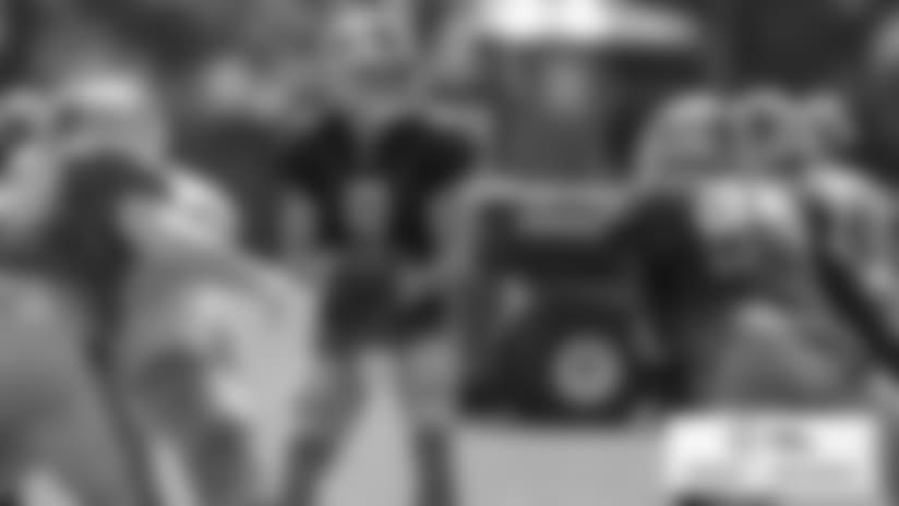 Detroit Lions quarterback Matthew Stafford (9) during practice at the Detroit Lions training facility on Tuesday, Aug. 28, 2018 in Allen Park, Mich. (Detroit Lions via AP)