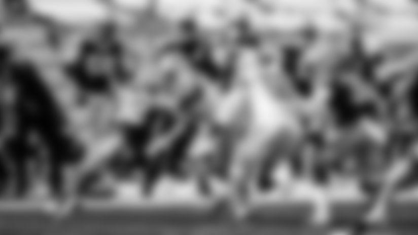 Detroit Lions running back Ty Johnson (31) Detroit Lions linebacker Reggie Ragland (59) during a NFL football game against the Green Bay Packers on Sunday, Sept. 20, 2020 in Detroit. (Detroit Lions via AP).