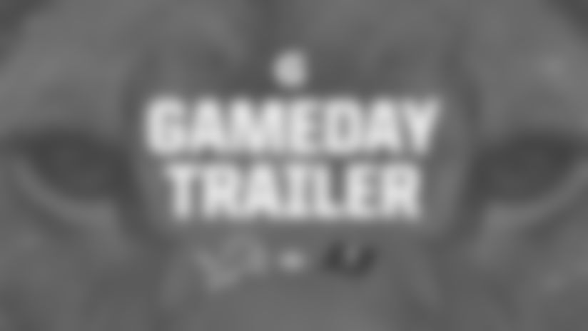 Get ready for the Lions' Week 16 matchup against the Tampa Bay Buccaneers with this game trailer fueled by Gatorade.