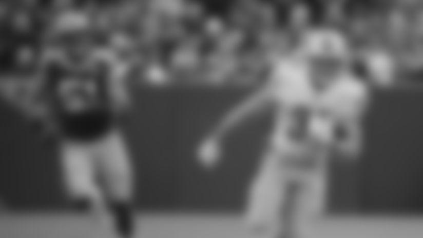 Detroit Lions wide receiver Travis Fulgham (14) during practice at the Detroit Lions training facility Friday, Dec. 27, 2019 in Allen Park, Mich. (Detroit Lions via AP)