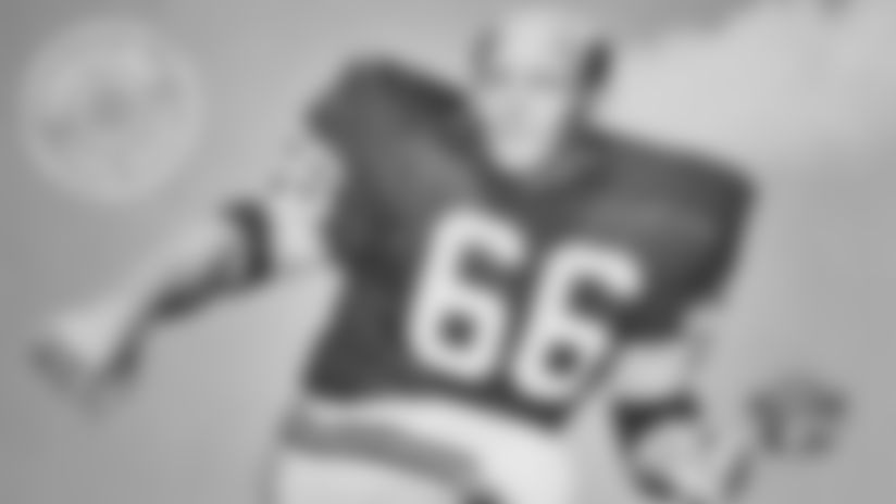 Ray Nitschke was focal point of Packers' dominating defense
