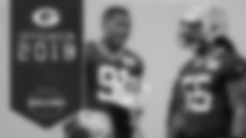 Linebackers Preston Smith and Za'Darius Smith
