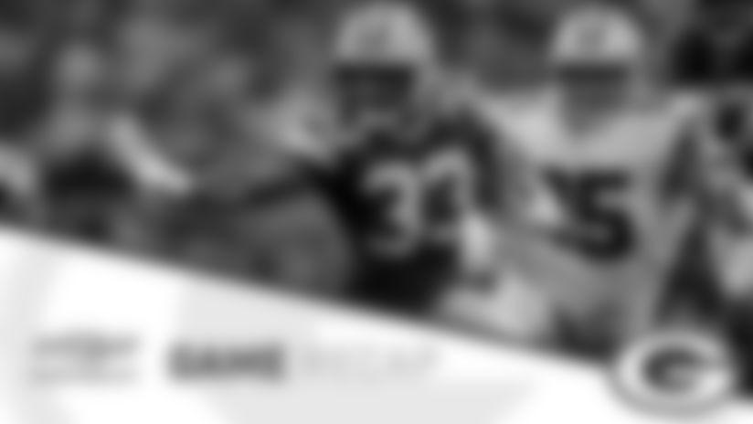 Aaron Jones powers Packers to huge road win over Cowboys