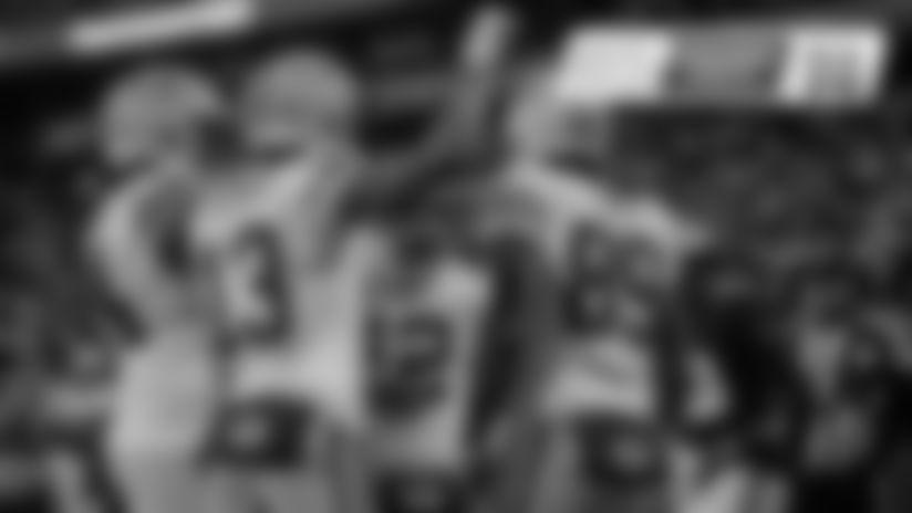 Row 1: Preston Smith, Aaron Rodgers, Aaron Jones, Matt LaFleur;   Row 2: Adrian Amos, Marcedes Lewis, Davante Adams, Billy Turner;   Row 3: Mason Crosby, Kevin King, Corey Linsley, David Bakhtiari